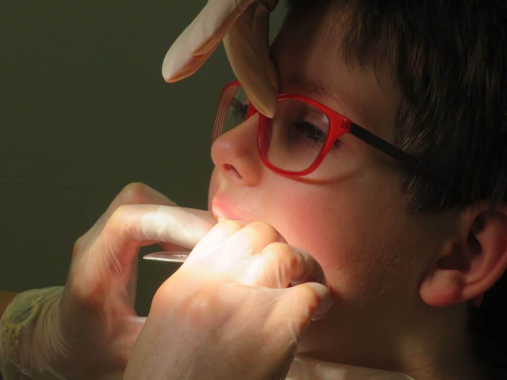Kieferorthopädische Behandlung bei Kindern